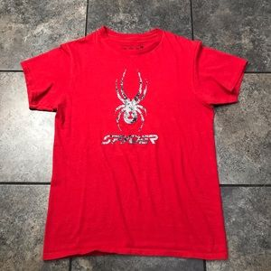 Men's Spyder Athletic S/S T-Shirt Size Small
